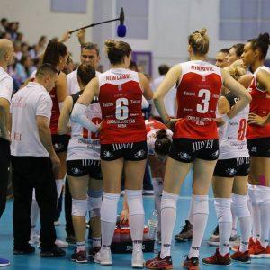 Astăzi, derby-ul CSM București – Volei Alba Blaj, ora 19:00 în direct la Digisport 4!