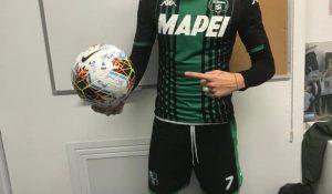 Ex-zlătneanul Andrei Mărginean a dat un hattrick pentru italienii de la Sassuolo Calcio și, conform tradiției din fotbal, a luat mingea acasă!