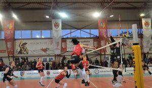 Volei Alba Blaj – CSU BELOR Galaţi 3-1 la volei feminin!