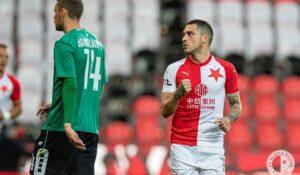 Albaiulianul Nicolae Stanciu, gol superb din lovitură liberă pentru Slavia Praga! VEZI AICI VIDEO!