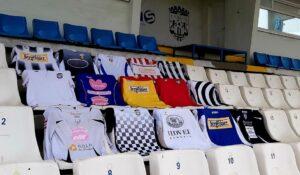 """Unirea Alba Iulia – 96 de ani de la înființare, astăzi, 16 august! Pe """"Cetate"""", expoziție de tricouri ale jucătorilor """"alb-negri""""!"""