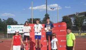 Aiudeanul George David Cozma (CSȘ Blaj) – campion național și medalie de bronz la Naționalele de atletism!