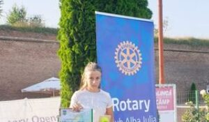 Giulia Pienariu pe podium la Cupa Rotary!