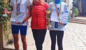 Doi atleți de la CSȘ Blaj, campioni naționali la cros! Medalii de aur pentru aiudenii David Cozma și Bianca Valc! (GALERIE FOTO)