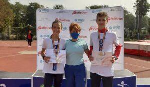 Aiudenii Bianca Valc și George Cozma (CSȘ Blaj) din nou campioni naționali! (GALERIE FOTO)