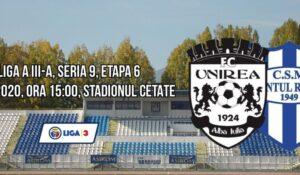 Liga a 3-a, Seria a 9-a, etapa a 6-a! CS Ocna Mureș joacă astăzi, Unirea Alba Iulia, CSO Cugir și Industria Galda de Jos evoluează mâine!
