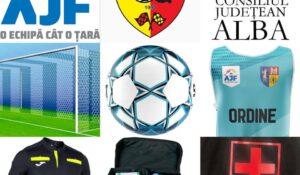 Parteneriat AJF Alba – Consiliul Județean Alba!