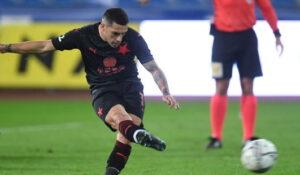 Nicolae Stanciu, golul victoriei pentru Slavia Praga în meciul cu Ostrava!
