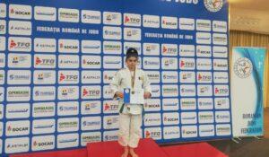 Laura Alexia Bogdan, judoka legitimată la CS Unirea Alba Iulia, locul 3 la Campionatul Național Individual U16!