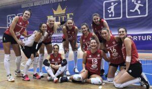 În turneul cu numărul 3 al Diviziei A1 la volei feminin, Volei Alba Blaj – FC Argeș Volei Pitești 3-0!