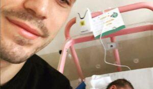 Albaiulianul Nicolae Stanciu a devenit tată! Andreea, soția lui, a născut o fetiță perfect sănătoasă!