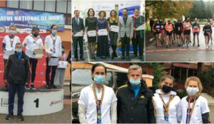 Patru medalii pentru CS Unirea Alba Iulia, obținute la Campionatul Național de 10 kilometri marș! (GALERIE FOTO)