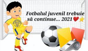 (RE)START din 2021 și pentru fotbalul juvenil? Un singur răspuns…DA!