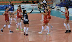 În Divizia A1 la volei feminin, Volei Alba Blaj – Știința Bacău 3-0!
