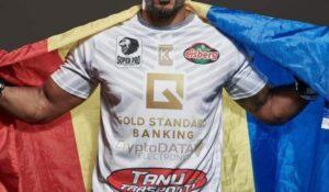 Glory 76! Benny Adegbuyi, sportiv originar din Aiud, l-a învins prin KO în repriza a treia pe marocanul Badr Hari!