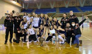 Volei Alba Blaj a câștigat Cupa României, primul trofeu al sezonului!