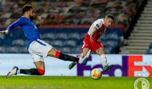 Albaiulianul Nicolae Stanciu din nou decisiv pentru Slavia Praga! Un alt gol senzațional în Europa League! VEZI AICI VIDEO cu reușita de aseară de la Glasgow!