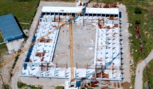 Se reiau lucrările la Sala Polivalentă din Blaj- termen de finalizare: 2022!