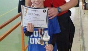 La 9 ani, Luca Andreas Vlaicu vrea să ajungă fotbalist și să-l întâlnească pe Cristiano Ronaldo!